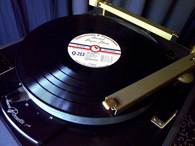 "16"" transcription record"