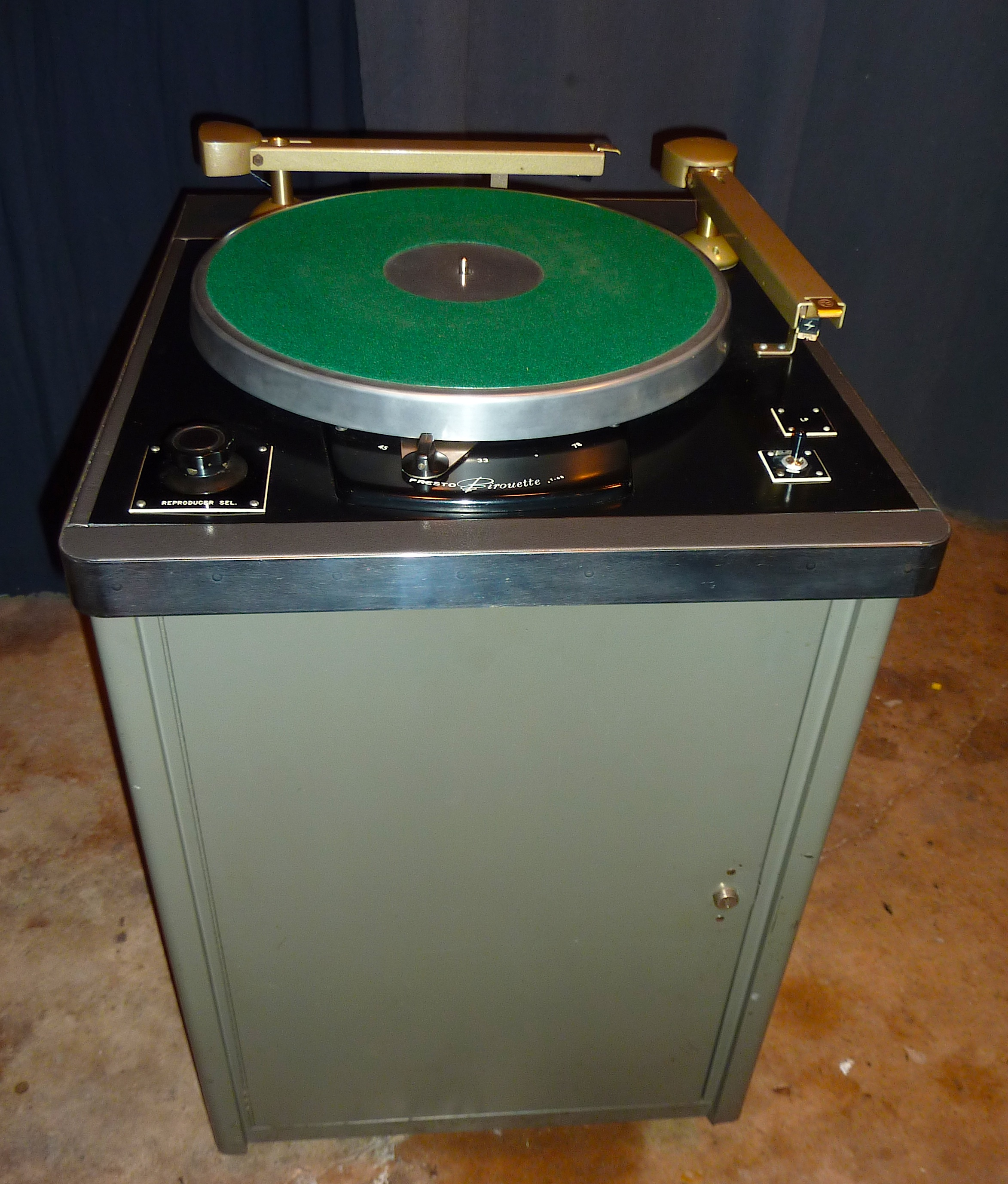 Presto 16 Quot Transcription Turntable Archives Audio Signal