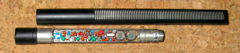 Just one of the many versions of the 416's interior circuitry